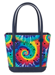 Printed Small Tote by Simply Southern - Tie Dye
