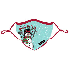 Holiday Adult Face Covering by Simply Southern - Baby It's Cold Outside