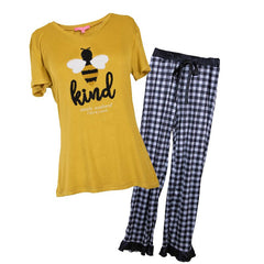 Youth Pajama Set by Simply Southern - Bee Kind