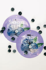 Home For The Holidays Face Mask in Blueberry (Ships in 1-2 Weeks) - 11/19