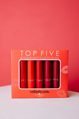 Madeline Matte Lipstick: The Valentine's Day Reds Collection - 1/14 - Ships in 1-2 Weeks