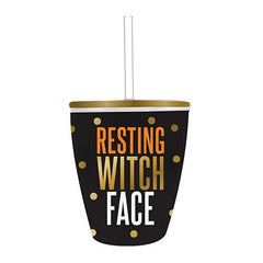 'Resting Witch Face' Double Wall Stemless Tumbler