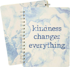 'Kindness Changes Everything' Spiral Notebook by PBK