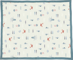 'Under the Sea' Blanket by PBK - Blue