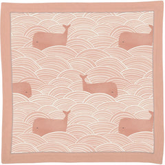 'Pink Whales' Security Blanket by PBK