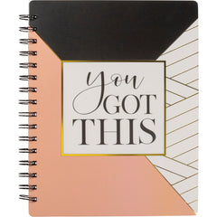 'You Got This' Spiral Notebook by PBK