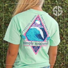 'Feeling Good Like It Should' Short Sleeve by Simply Southern