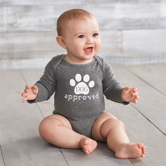 Dog Approved Baby Onesie Bodysuit by Mud Pie