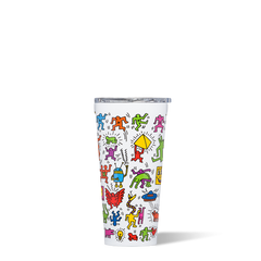 16 oz Stainless Steel Keith Haring Collection Tumbler by Corkcicle - Pop Party