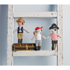 Pirate' Plush Rattle by Mud Pie