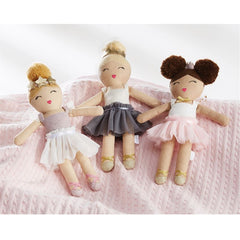 Ballerina' Plush Rattle by Mud Pie