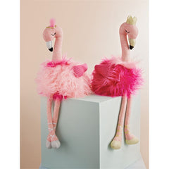 Flamingo' Plush Dolls by Mud Pie
