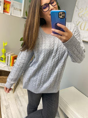 Camila Cable Knit Sweater