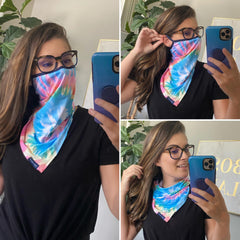 Face Mask Fashion Covers by Simply Southern - Tie Dye