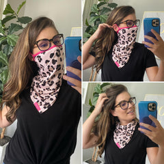 Face Mask Fashion Covers by Simply Southern - Leopard