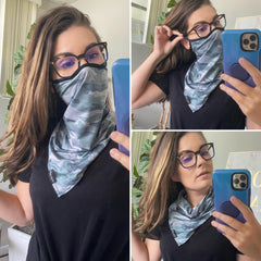 Face Mask Fashion Covers by Simply Southern - Green Camo