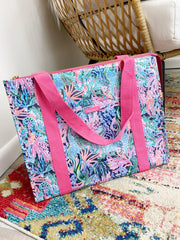 Insulated Market Shopper by Lilly Pulitzer - Bringing Mermaid Back