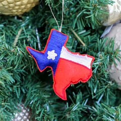 Texas Beaded Ornament