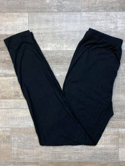 Basic Everyday Leggings - Black