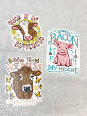 Sticker Set by Simply Southern - Farm