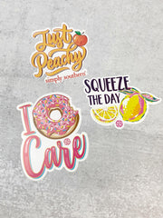 Sticker Set by Simply Southern - Foodie
