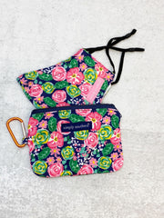 Printed Face Mask and Pouch by Simply Southern - Floral