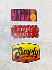 Sticker Set by Simply Southern - Simply Logos