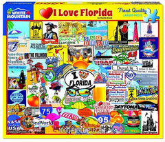 I Love Florida 1000 Piece Jigsaw Puzzle