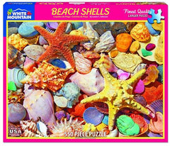 Beach Shells 550 Piece Jigsaw Puzzle