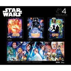 4-In-1 Star Wars Multipack Collector's Edition Jigsaw Puzzles