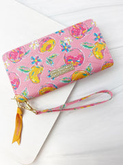 Quilted Phone Wallet by Simply Southern - Peachy