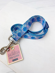 Palm Leaves Printed Dog Leash by Simply Southern