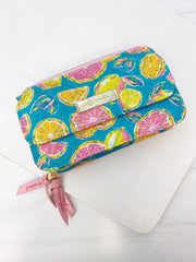 Quilted Phone Crossbody Wallet by Simply Southern - Citrus