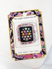 Apple Watch 40mm Screen Bumper by Simply Southern - Butterflies