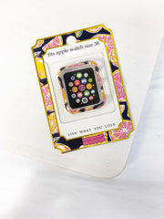 Apple Watch 38mm Screen Bumper by Simply Southern - Citrus