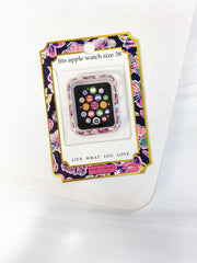 Apple Watch 38mm Screen Bumper by Simply Southern - Butterflies
