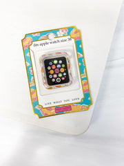 Apple Watch 38mm Screen Bumper by Simply Southern - Peachy
