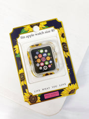 Apple Watch 40mm Screen Bumper by Simply Southern - Sunflowers