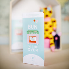 Bun In The Oven New Mom Chocolate Card