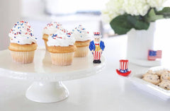 All American Uncle Sam Mini by Nora Fleming