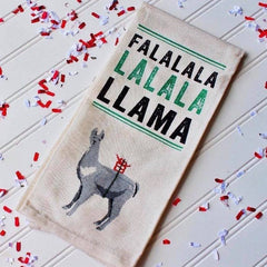 Fa La La Llama Kitchen Towel by PBK