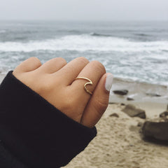 Wave Ring by Pura Vida - 2 Options Avilable