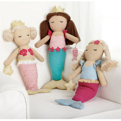 'Mermaid' Plush Dolls by Mud Pie