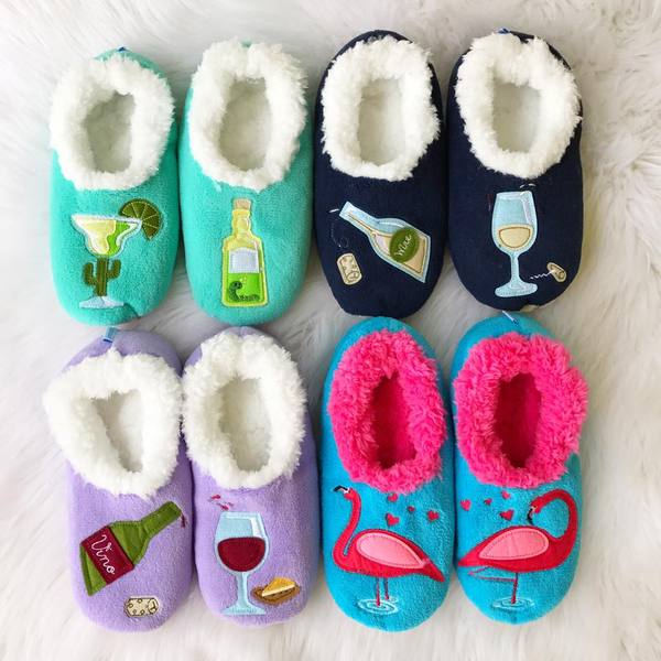 cf4186ded92 ... Vino Wine House Slippers by Snoozies · Preppy Fun Slippers