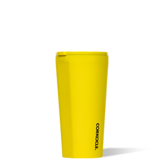 Neon Yellow Stainless Steel Tumblers by Corkcicle