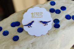 T-Rex Dinosaur Signature Enamel Studs by Prep Obsessed