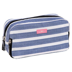 3-Way Cosmetic Bag by Scout Bags - Oxford Blues