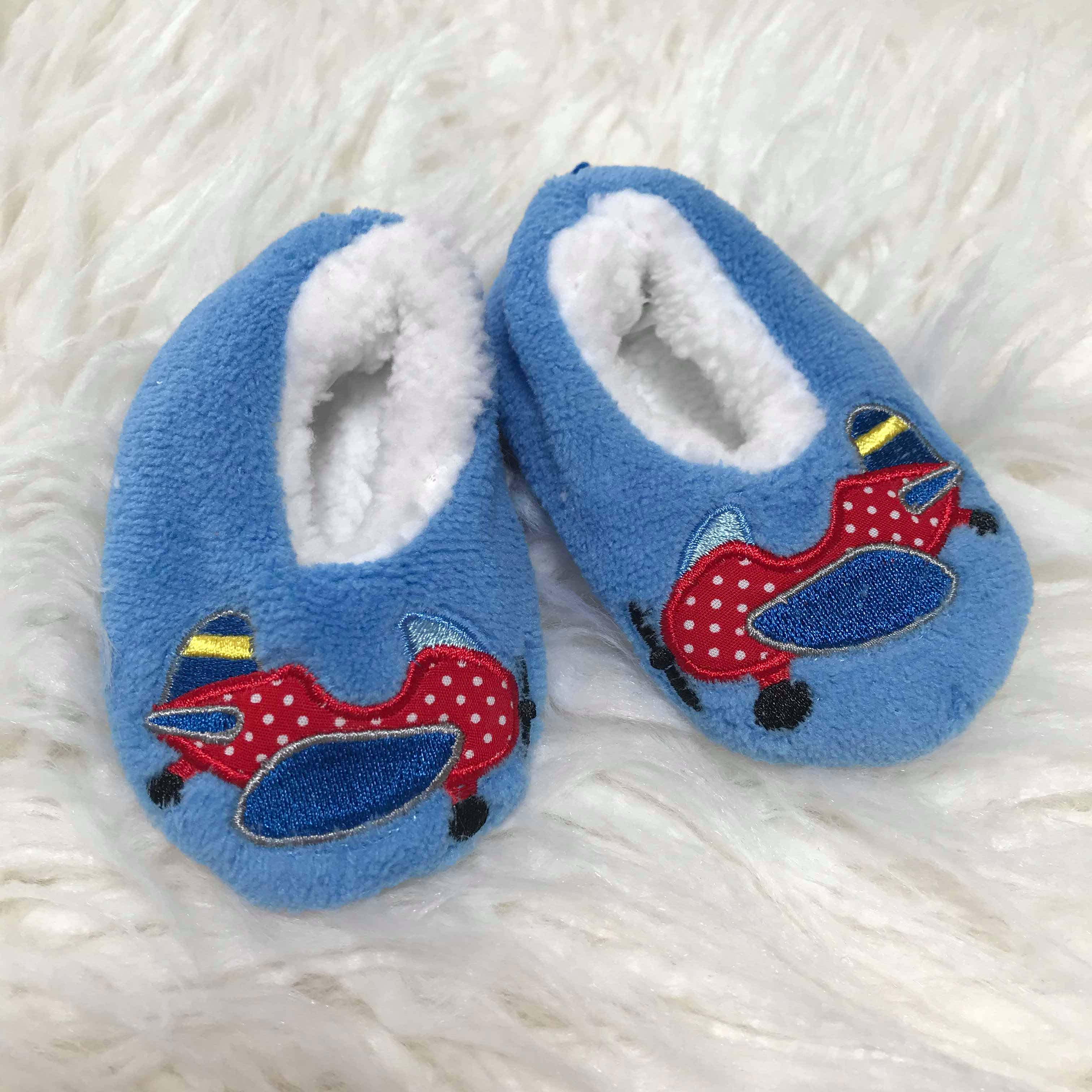 Snoozies Medium Baby Infant Shoes//Baby Slippers 3-6 Months /…