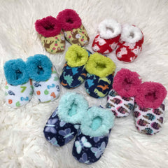 Toddler Printed Snoozies! Slippers - Choice Of Style