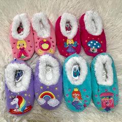 Kidz Fairytale Snoozies! Slippers - Choice Of Style KIDS Large 4/5 only